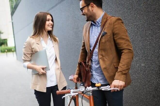 How to Tell if a Guy Likes You at Work - Post