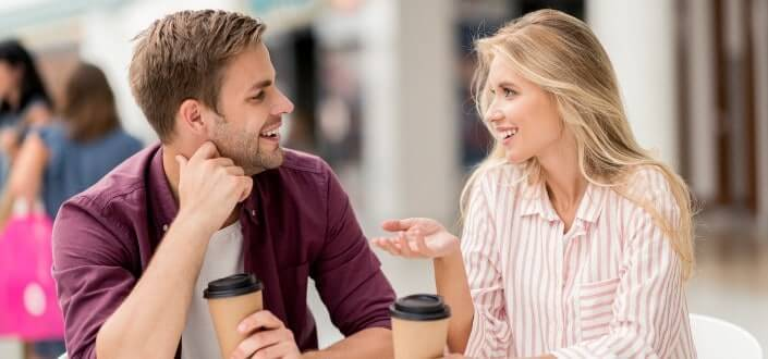 how to tell if a guy likes you - Pro tip_ Start a conversation with a guy