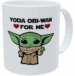 birthday gifts for boyfiend - toda obi wan green mug