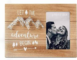 Let the Adventure Begin Picture frame