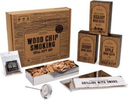 Wood Chips for Smokers Grill Set