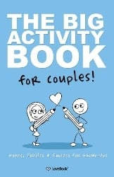 cute birthday gifts for boyfriend - Big Activity Book For Couples