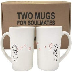 cute birthday gifts for boyfriend - Couple Coffee Mugs