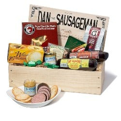 Dan the Sausageman's Favorite Gourmet Gift Basket (1)