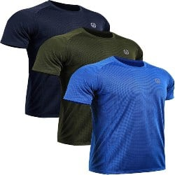 Anniversary gifts for Boyfriend that can be Birthday gifts - Neleus Men's Dry Fit Mesh Athletic Shirts