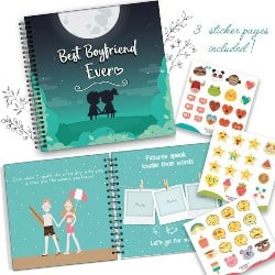 Cute Anniversary Gifts for Boyfriend - Best Boyfriend Ever Memory Book (1)