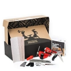 DIY Anniversary Gifts for Boyfriend - Man Crates Folding Knife Making Kit (1)