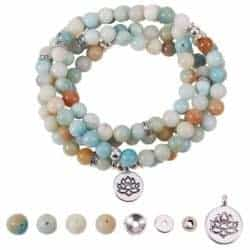 diy gifts for boyfriend - Amazonite Bracelet Kit
