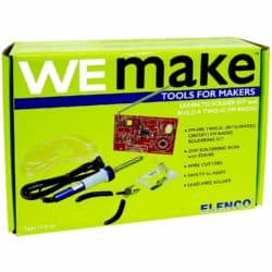 diy gifts for boyfriend - FM Radio DIY Soldering Kit with Tools