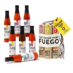 cute gifts for boyfriend - Hot Sauce Gift Set