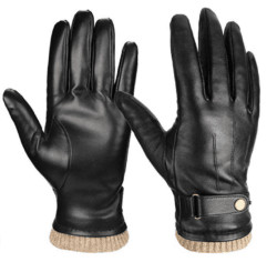 cute gifts for boyfriend - Nappa Leather Winter Gloves