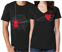 valentine's day gifts for boyfriend - BoldLoft You've Captured My Heart Couples Shirts