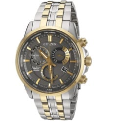 valentine's day gifts for boyfriend - Citizen Men's BL8144-54H Eco-Drive Analog Quartz Two-Tone Stainless Steel Watch