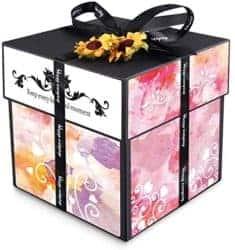 valentine's day gifts for boyfriend - DIY Creative Surprise Photo Album Gift Box