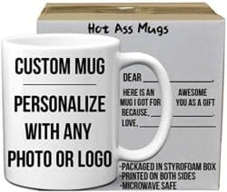 valentine's day gifts for boyfriend - DIY Custom and Create any Personalized Photo Picture Coffee Mugs