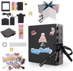 valentine's day gifts for boyfriend - DIY Handmade Photo Album Scrapbooking, Explosion Gift Box