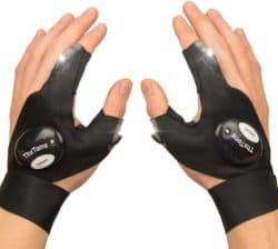 valentine's day gifts for boyfriend - LED Flashlights Gloves