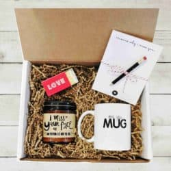 valentine's day gifts for boyfriend - Long Distance Gift Box Miss You Gift Box