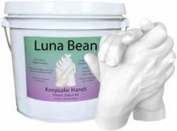 valentine's day gifts for boyfriend - Luna Bean LARGE Keepsake Hands Casting Kit