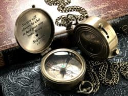 valentine's day gifts for boyfriend - Personalized Compass