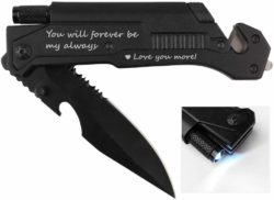 valentine's day gifts for boyfriend - Pocket Knife with 6 Functions