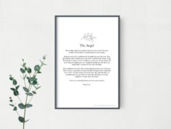 unique bridesmaid gifts - Bridesmaid Poem
