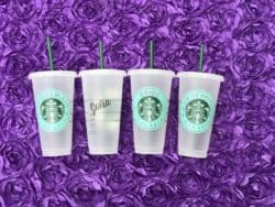 unique bridesmaid gifts - Starbucks Reusable Cold Cup Venti