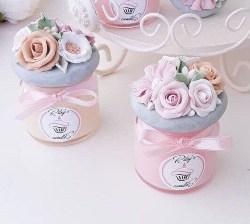 Best Bridal Shower Favors - Floral Candle Favors (1)
