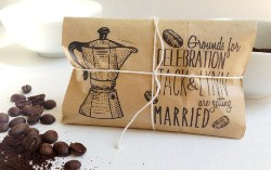 Best Bridal Shower Favors - Freshly Roasted Coffee (1)