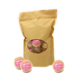 Best Bridal Shower Favors - Gold Glitter Bath Bombs (1)