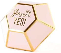 Best Bridal Shower Favors - My Mind's Eye She Said Yes Diamond
