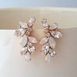 Best Bridemaids Gifts - Bridal earrings stud