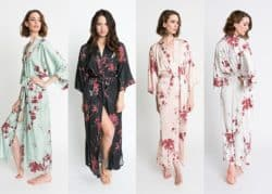 Best Bridemaids Gifts - Long Kimono Robe