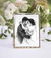 Best unique bridal shower gifts - Couple Portrait