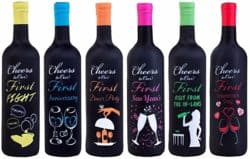 Milestones Wine Bottle Covers