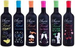 Milestones Wine Bottle Covers