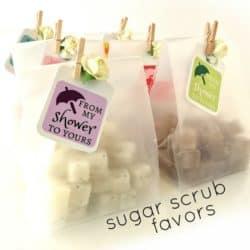 Mini Sugar Scrubs