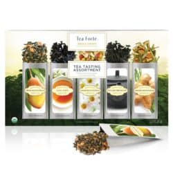 Tea Forte Organic Classic Tea Sampler