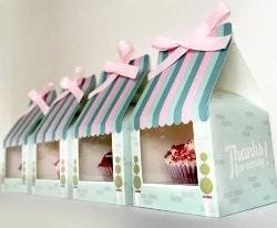 Cheap Bridal Shower Favors - Cupcake Favor Boxes (1)