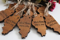 Cheap Bridal Shower favors - Map Tags (1)