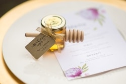 Cheap Bridal Shower favors - Mini Honey Jar