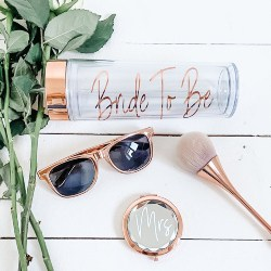 Cheap Bridal Shower Favors - Rose Gold Make-Up Brush (1)