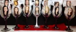 Personal Bridemaids Gifts - Wineglass