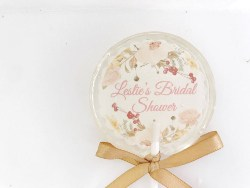 Personalized Bridal Shower Favors - Customized Lollipop (1)