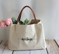 Personalized Bridal Shower Favors - Tote Bags (1)