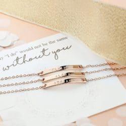 Blush Bridesmaid Bracelet