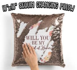 Will you be my Maid of Honor Pillow