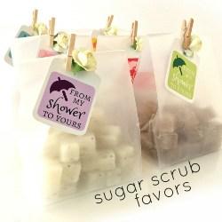 Unique Bridal Shower Favors - Mini Sugar Scrubs (1)