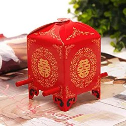 Unique Bridal Shower Favors - Sedan Chair Chinese