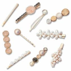 Unique Bridemaids Gifts - Fashion Hair Clips Set